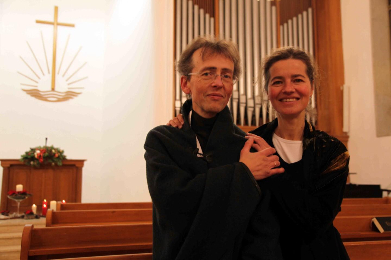 Wieland Meinhold und Mirjam Meinhold